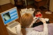 pobieranie wycisku wirtualnego kamerą Bluecam w systemie CAD/CAM CEREC do zaprojektowania korony pełnocerammicznej